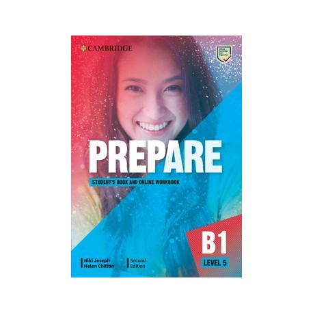 Prepare B1 Level 5 Second Edition Student's Book with Online Workbook