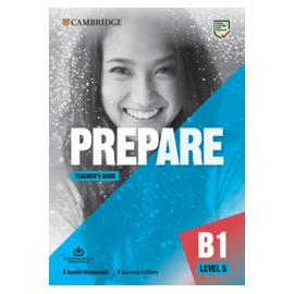 Prepare B1 Level 5 Second Edition Teacher's Book with Downloadable Resource Pack