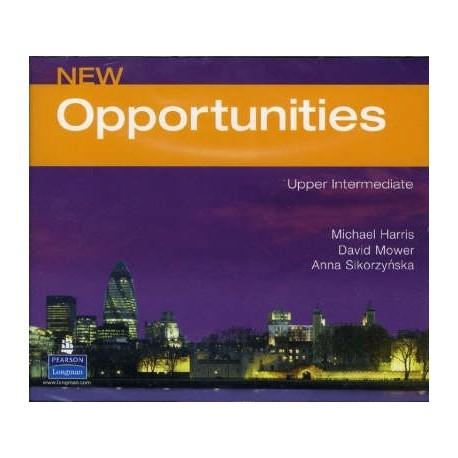 New Opportunities Upper-intermediate Class CDs Longman 9780582855762