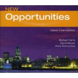 New Opportunities Upper-intermediate Class CDs