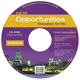 New Opportunities Upper-intermediate CD-ROM