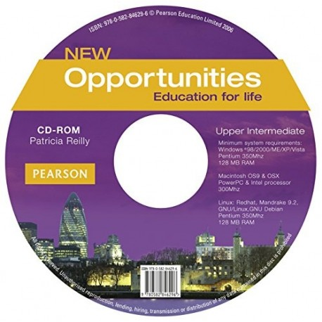 New Opportunities Upper-intermediate CD-ROM Longman 9780582846296
