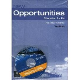 New Opportunities Pre-intermediate Test Book + CD