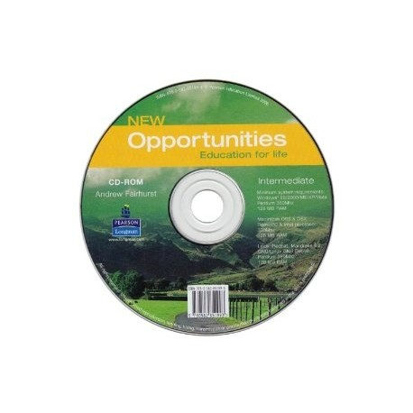 New Opportunities Intermediate CD-ROM Longman 9780582851993
