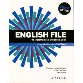 English File Third Edition Pre-Intermediate Student's Book Czech Edition