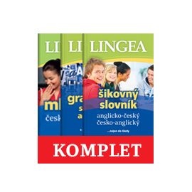 Lingea: Kompletní angličtina - Šikovný slovník, Gramatika současné angličtiny, Mluvník