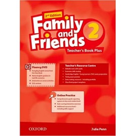 Family and Friends 2 Second Edition Teacher's Book Plus
