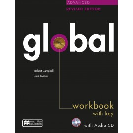 Global Advanced Revised Edition Workbook with key + CD pack