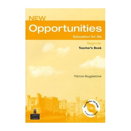 New Opportunities Beginner Teacher's Book with Test Master CD-ROM Longman 9781405843546