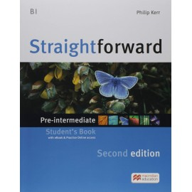 Straightforward Pre-Intermediate Second Ed. Student's Book + eBook + Practice Online access