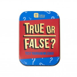 Talking Tables: True or False?