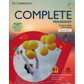 Complete Preliminary for Revised Exam from 2020 Student's Book without answers and Workbook without asnwers