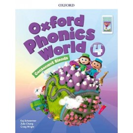Oxford Phonics World 4 Consonant Blends Student's Book + eBook Reader