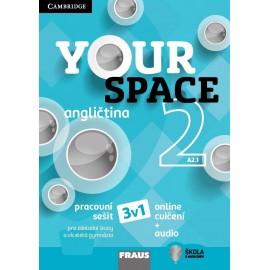 Your Space 2 Pracovní sešit + Online cvičení a Audio