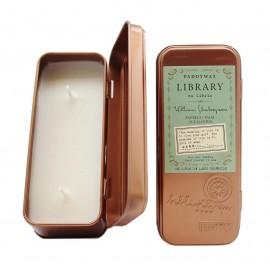 Vonná svíčka Paddywax Library William Shakespeare, 70 g
