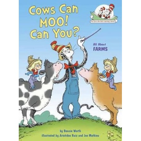 Cows Can Moo! Can You? : All About Farms