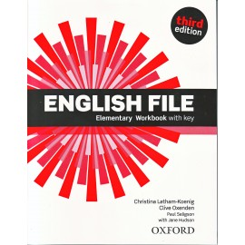English File Third Edition Elementary Workbook with Key