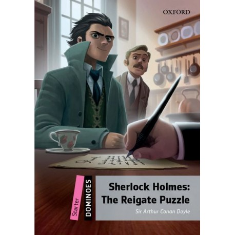Oxford Dominoes: Sherlock Holmes: The Rigate Puzzle + MP3 audio download