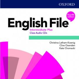 English File Fourth Edition Intermediate Plus Class Audio CDs