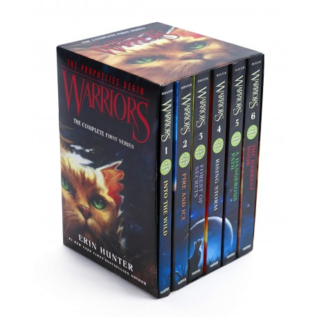 Warriors Box Set : Volumes 1 to 6