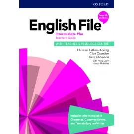 English File Fourth Edition Intermediate Plus Teacher's Book with Teacher's Resource Center