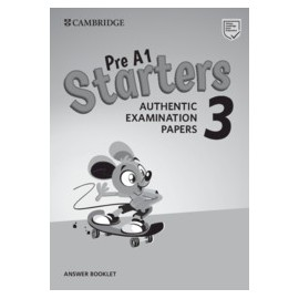 Cambridge English Young Learners 3 Third Edition 2018 Starters Answer Booklet
