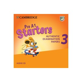 Cambridge English Young Learners 3 Third Edition from 2018 Starters Adio CD