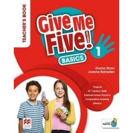 Give Me Five! Level 1 Teacher's Book Basics with Navio App