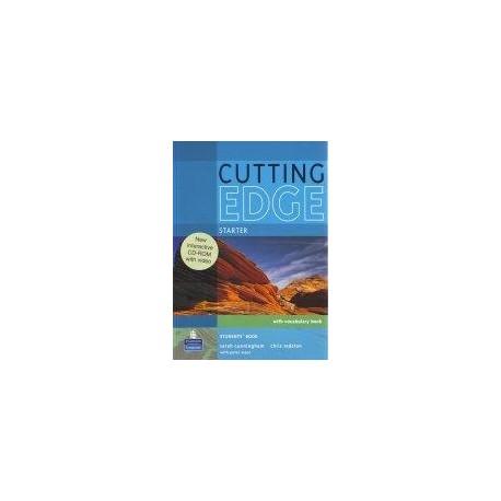 Cutting Edge Starter Student's Book + CD-ROM Longman 9781408262283