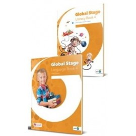 Global Stage Level 4 Literacy Book and Language Book with Navio App