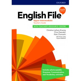 English File Fourth Edition Upper Intermediate Teacher's Book with Teacher's Resource Center