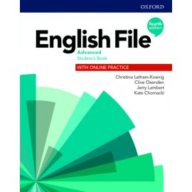English File Fourth Edition Advanced Student's Book with Online Practice