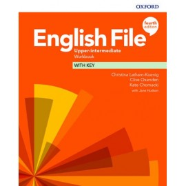 English File Fourth Edition Upper-Intermediate Workbook with Answer Key