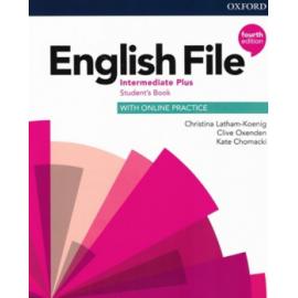 English File Fourth Edition Intermediate Plus Student's Book s anglicko-českým slovníčkem a Online Practice