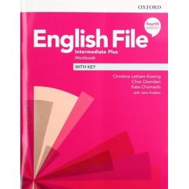 English File Fourth Edition Intermediate Plus Workbook with Answer Key