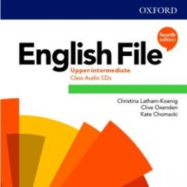 English File Fourth Edition Upper-Intermediate Class Audio CDs