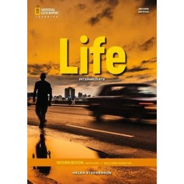 Life Second Edition Intermediate Workbook with Answer Key & Workbook Audio CD