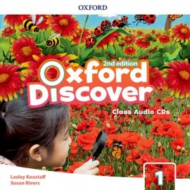 Oxford Discover Second Edition 1 Class Audio CDs