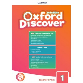 Oxford Discover Second Edition 1 Teacher's Pack with Classroom Presentation Tool