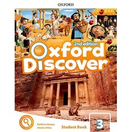 Oxford Discover Second Edition 3 Student Book Pack