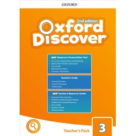 Oxford Discover Second Edition 3 Teacher's Pack with Classroom Presentation Tool