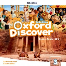 Oxford Discover Second Edition 3 Class Audio CDs