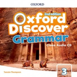 Oxford Discover Second Edition 3 Grammar Class Audio CD