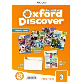 Oxford Discover Second Edition 3 Posters