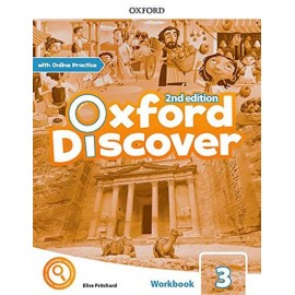 Oxford Discover Second Edition 3 Workbook with Online Practice