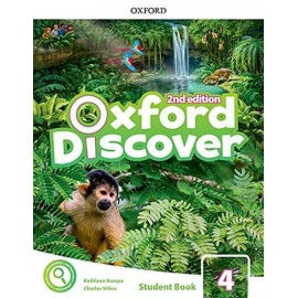 Oxford Discover Second Edition 4 Student Book Pack