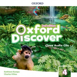 Oxford Discover Second Edition 4 Class Audio CDs