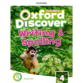 Oxford Discover Second Edition 4 Writing and Spelling Book
