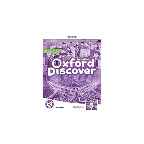 Oxford Discover Second Edition 5 Workbook with Online Practice