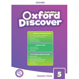 Oxford Discover Second Edition 5 Teacher's Pack with Classroom Presentation Tool